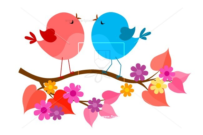650x434 Spring Birds Free Vectors, Illustrations, Graphics, Clipart, Png