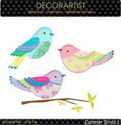 236x245 Big Eye Birds Clip Art For Scrapbooking Card Making Cupcake
