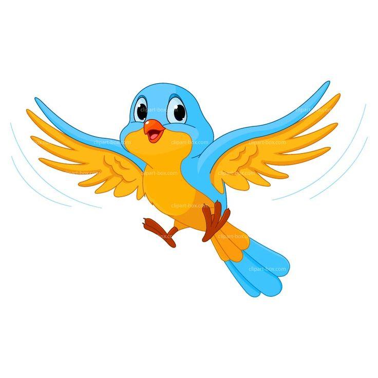 736x736 Bird Clipart Clipart Bird Cartoon Royalty Free Vector Design