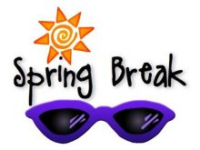 220x165 Spring Break Clipart Covington County Schools Spring Break