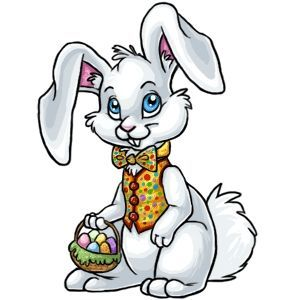 300x300 Easter Bunny Graphics Easter Bunny Clipart Honey Bunny