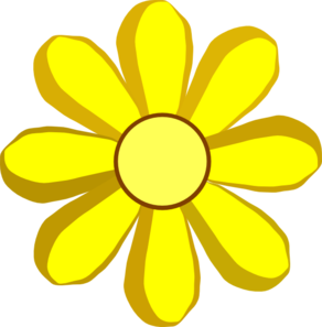 292x297 Spring Flowers Clip Art Free Clipart Image