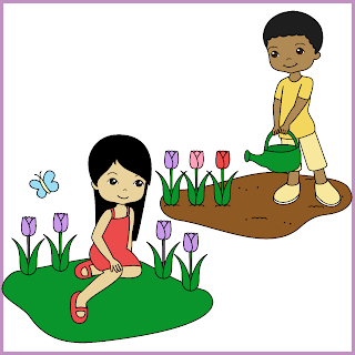 320x320 Ink N Little Things My First Kids Clip Art With A Freebie!