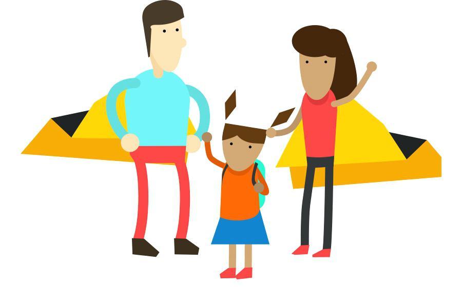 900x560 Parent And Child Clip Art Spring Parent Child Clip Art