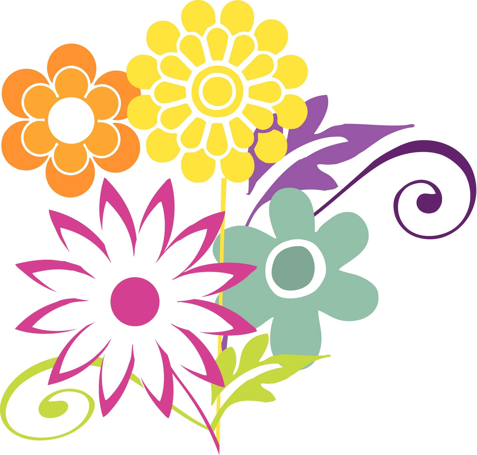 Spring Flower Clipart At Getdrawings Free For Personal Use