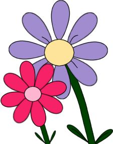 225x287 Multiple Flowers Spring Clipart