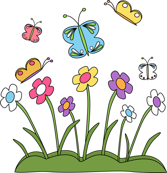 533x550 Spring Clip Art