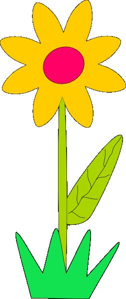 252x597 Spring Flower Clip Art At Vector Clip Art