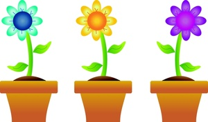 300x177 Top 96 Spring Flowers Clip Art