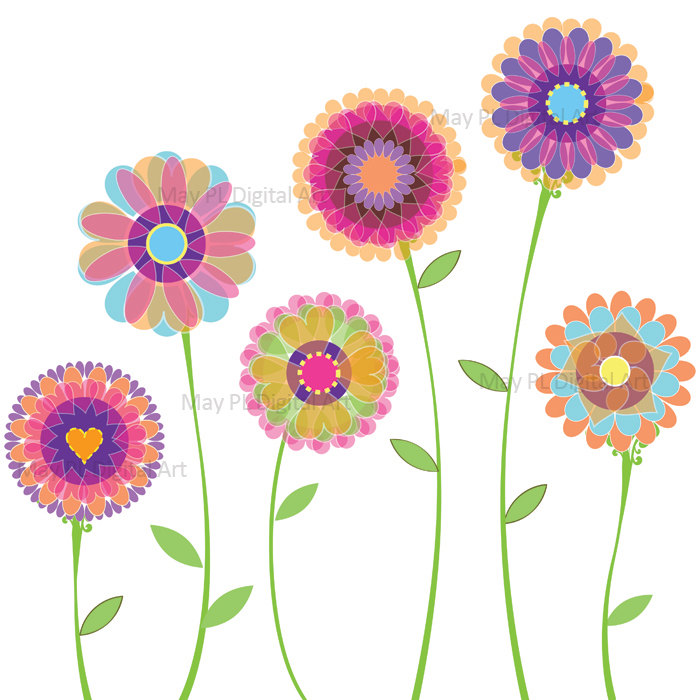 700x700 Top 96 Spring Flowers Clip Art Free Clipart Image