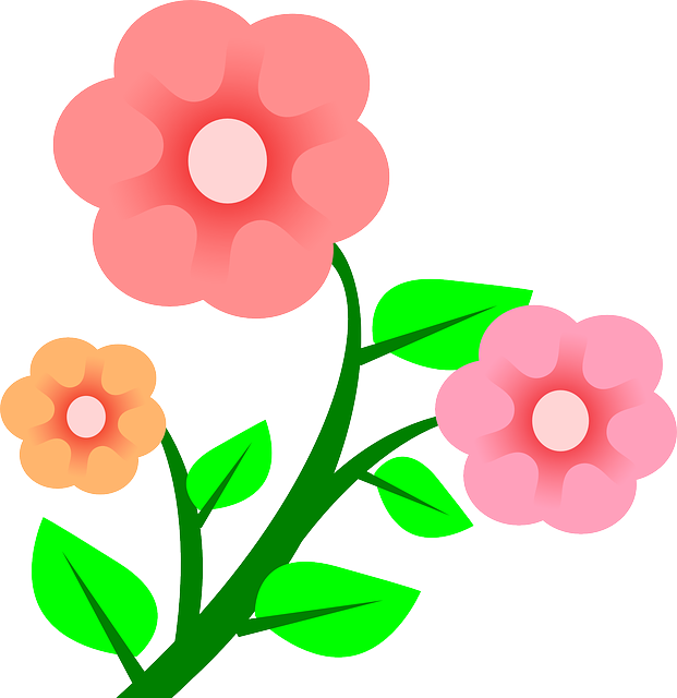 Spring flowers clipart at getdrawings free for personal use 600x295 spring flowers clip art 621x640 three plants flower flowers cartoon border pink r39s book pinterest mightylinksfo