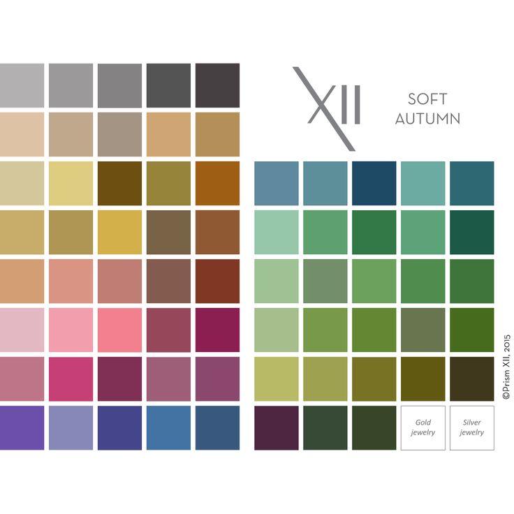 736x736 Autumn Color Palette 82 Best Soft Autumn Palettes Images