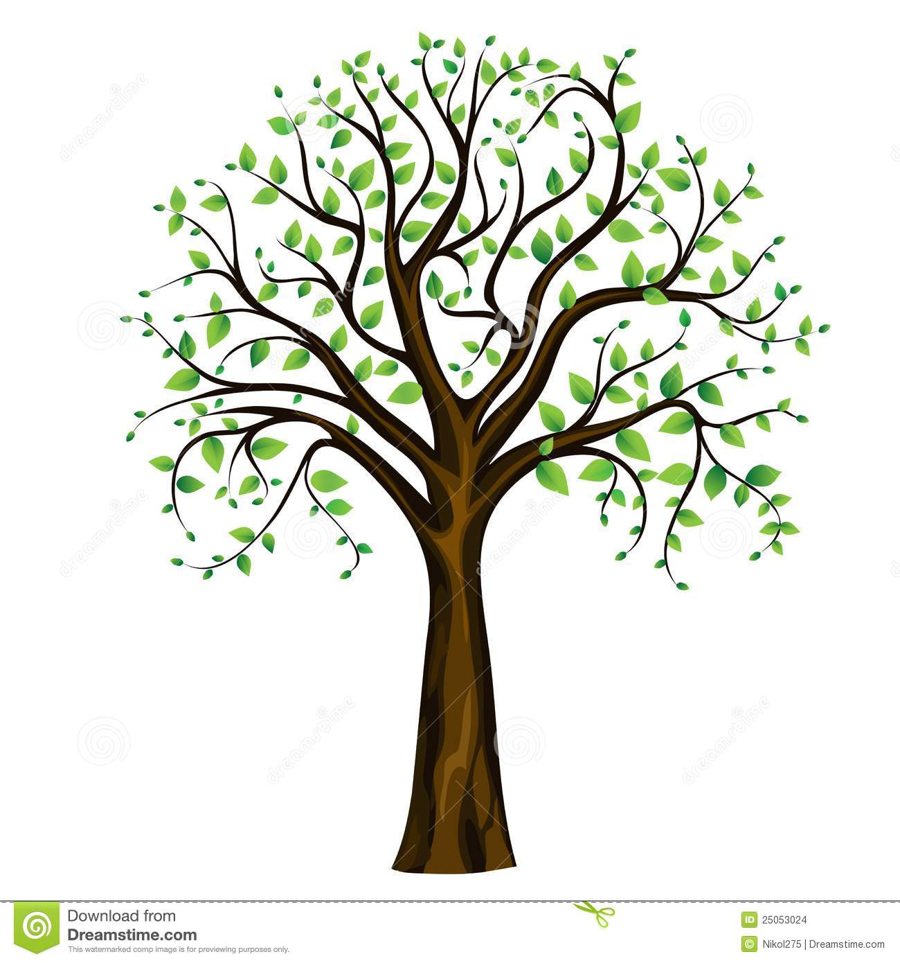 1300x1390 Spring Tree Clipart Group