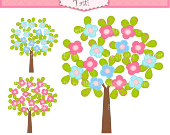 340x270 Spring Tree Clipart