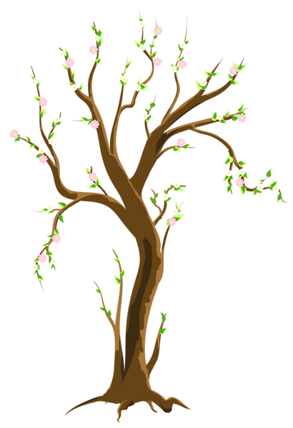 410x600 Spring Tree Png Clipart Picture Trees Spring Tree