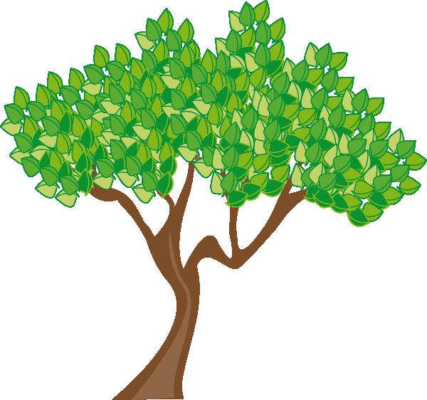600x562 Summer Or Spring Tree Clip Art