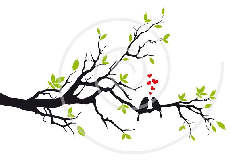 800x560 Wedding Tree Digital Clip Art, Wedding Clipart, Wedding Invitation
