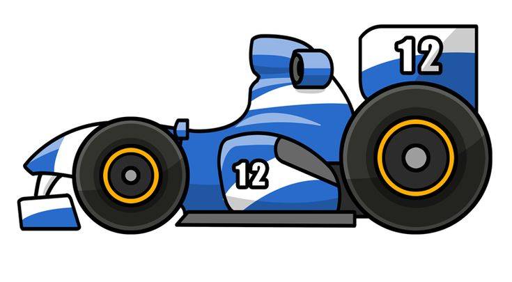 Sprint Car Clipart