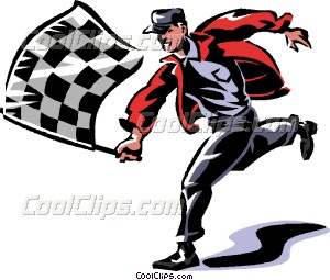 300x255 Checkered Flag Vector Clip Auto Racing Clipart