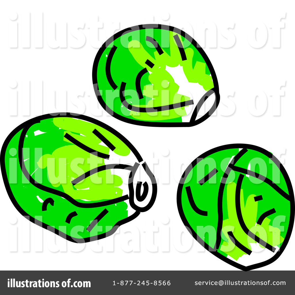 1024x1024 Brussels Sprouts Clipart