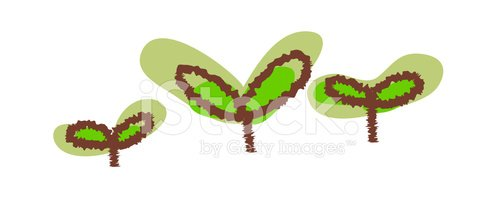 498x197 View Of Sprout Premium Clipart