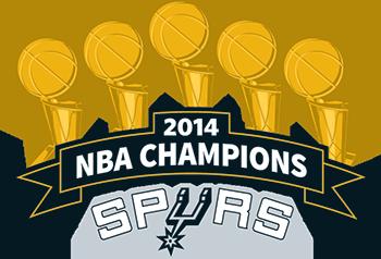 350x238 2014 Celebration San Antonio Spurs