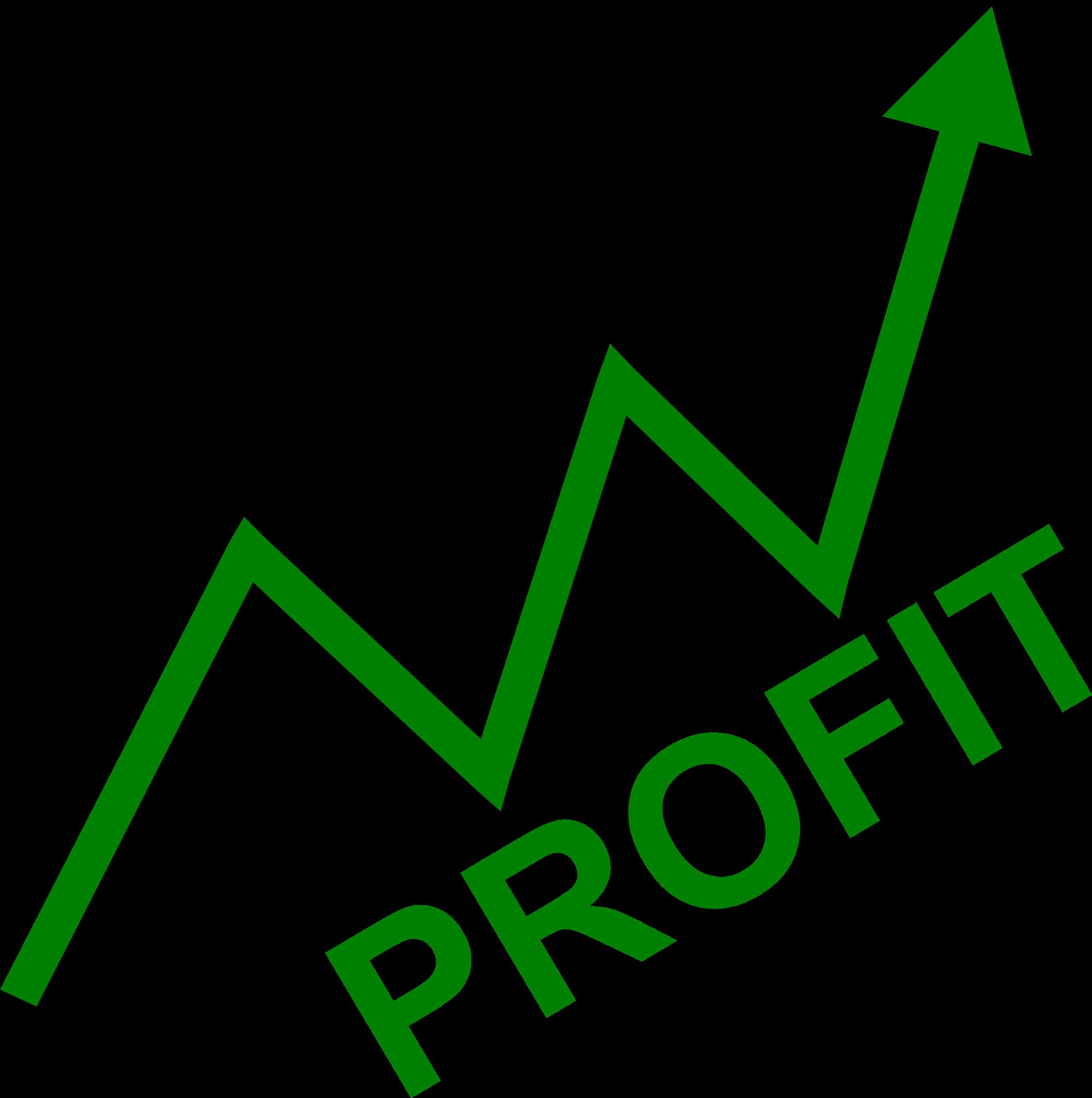 2372x2384 Graph Clipart Profit