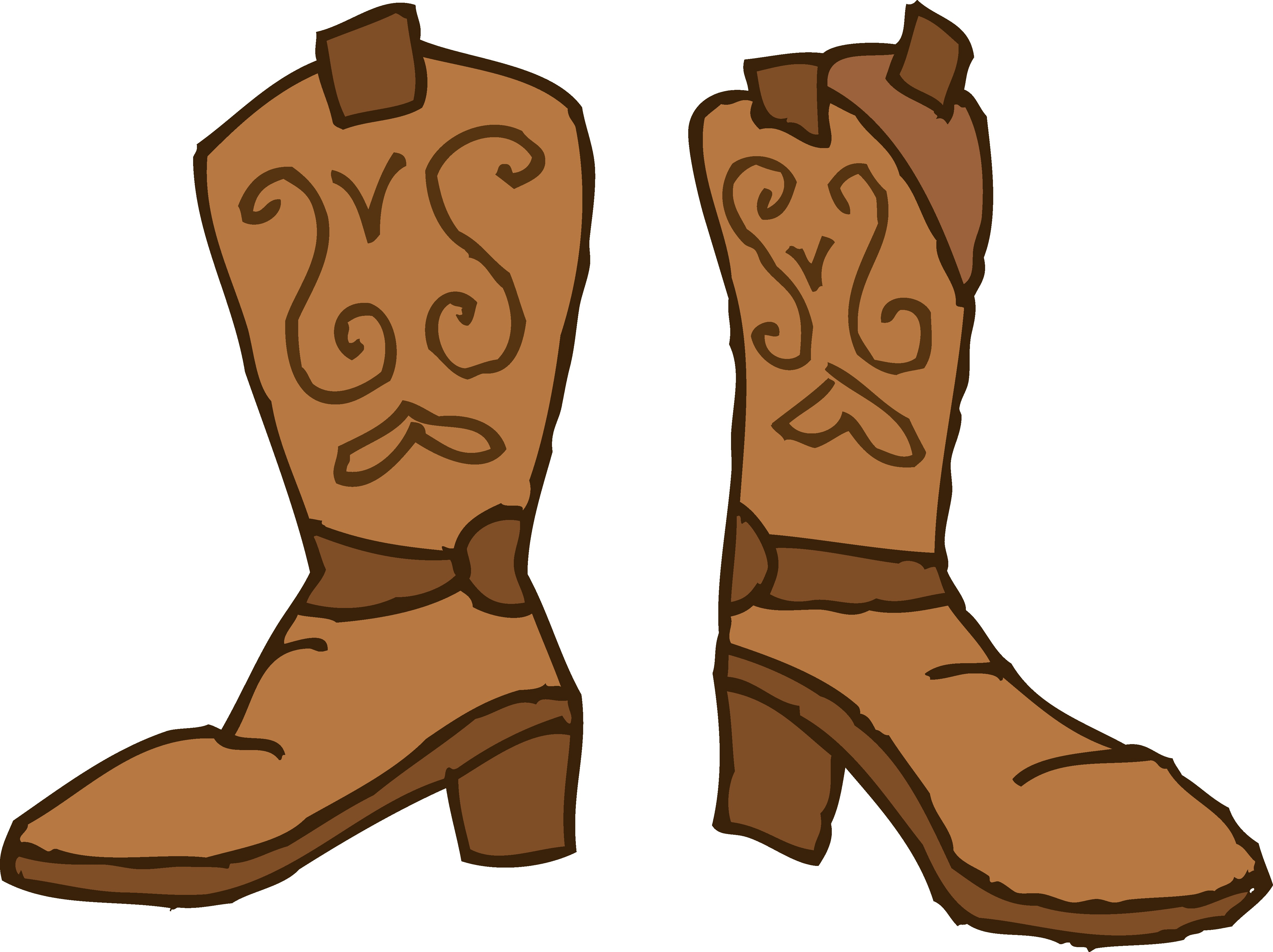 4700x3517 Brown Cowboy Boots Clipart Free Clip Art Best