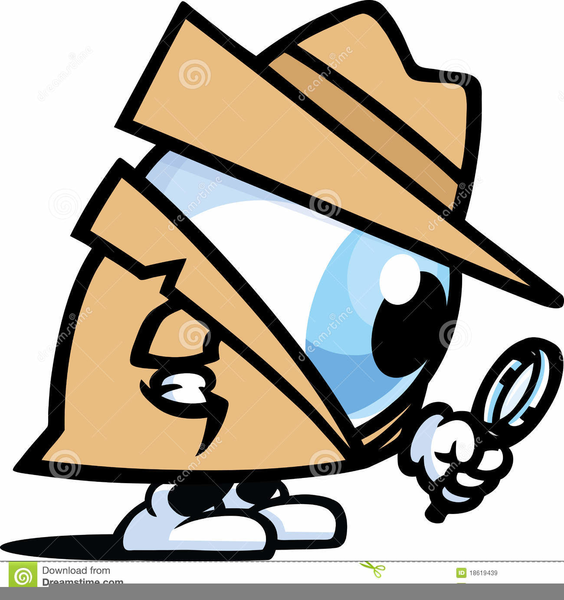 564x600 Detective Spy Glass Clipart Free Images