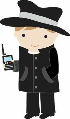 236x400 Search Fingerprints Clipart Detective Top Secret Agents