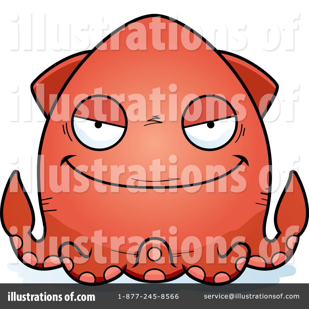 1024x1024 Squid Clipart