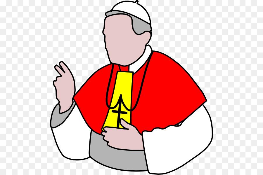 900x600 Pope Catholic Church Clip Art
