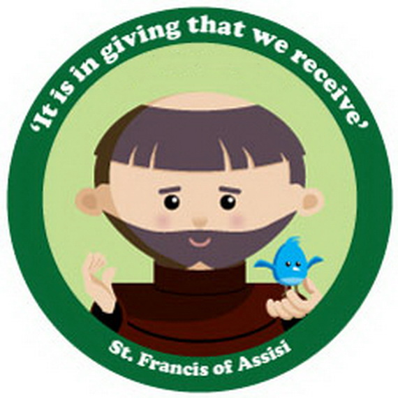 570x570 St. Francis Of Assisi Coloring Pages For Catholic Kids