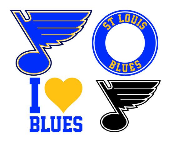 570x456 St Louis Blues Cut Files St Louis Blues Svg Files St Louis