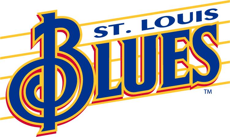 751x448 St. Louis Blues Wordmark Logo