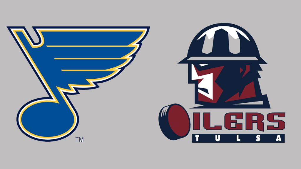 1024x576 Blues Extend Affiliation With Echl's Tulsa Oilers