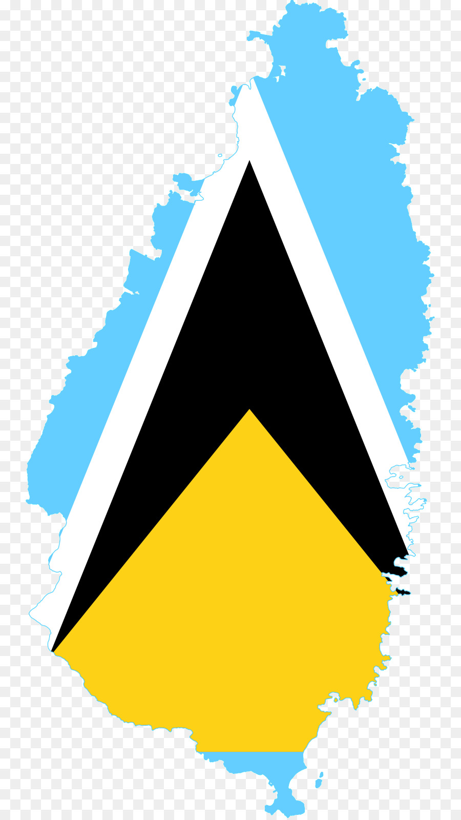 900x1600 Flag Of Saint Lucia Castries Geography Of Saint Lucia