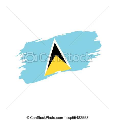 450x470 Saint Lucia Flag Illustrations And Clip Art. 1,285 Saint Lucia