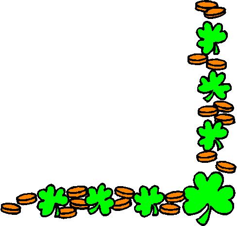 490x465 Free St Patricks Day Borders Clipart