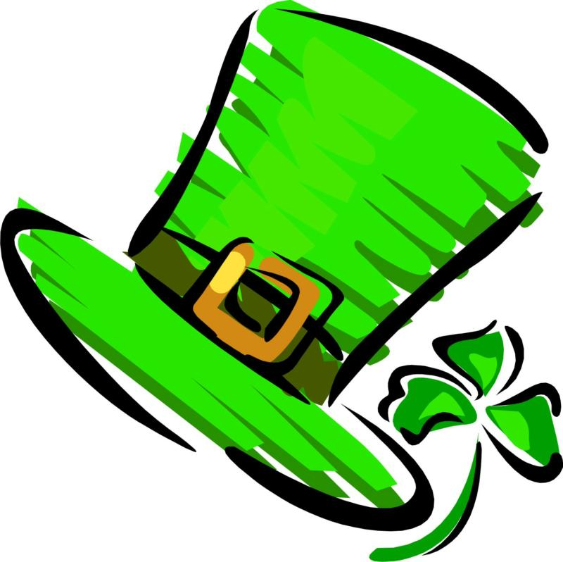 St Patricks Day Hat Clipart
