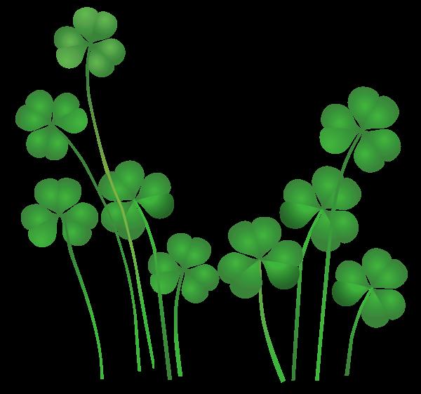 600x561 Patrick's Day Png St Patricks Day Shamrocks Decor Png Clipart