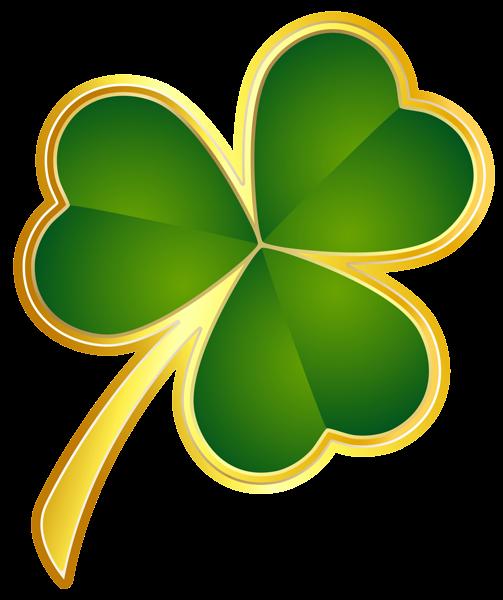 503x600 Shamrocks Clip Art Patricks Day Png St Patricks Day Gold Shamrock