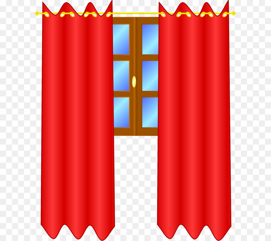 900x800 Window Treatment Curtain Clip Art