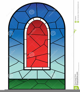 261x300 Free Stained Glass Window Clipart Free Images
