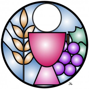 300x300 Stained Glass Clipart Chalice Host