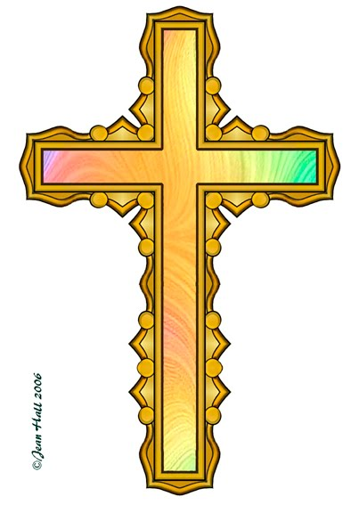 403x567 Colorful Cross Clipart Collection