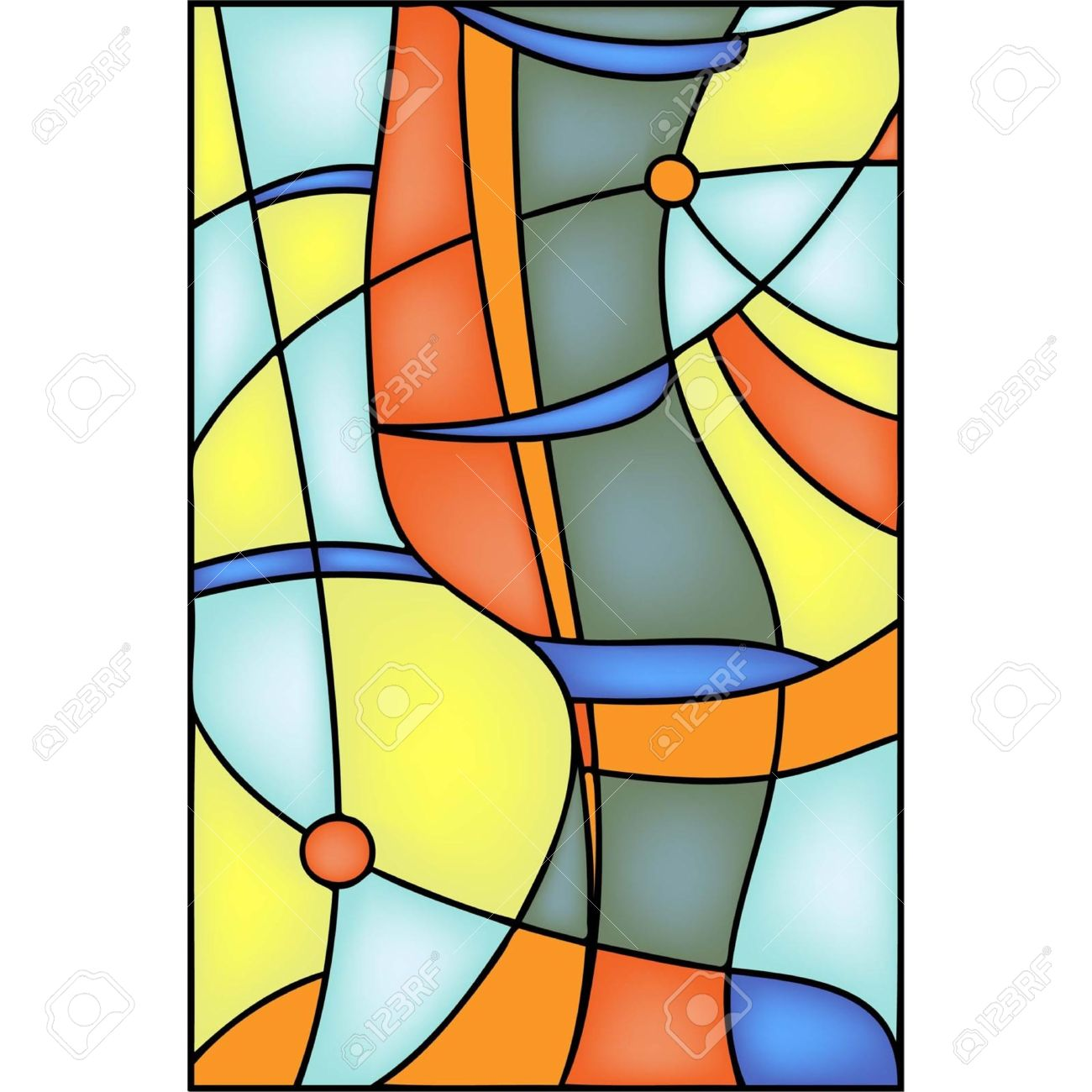 1300x1300 Groovy Stained Glass Window Designs Stained Glass Window Designs