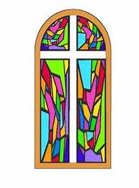 196x264 Beautiful Stained Glass Panel Found In A Very Old, Very Small