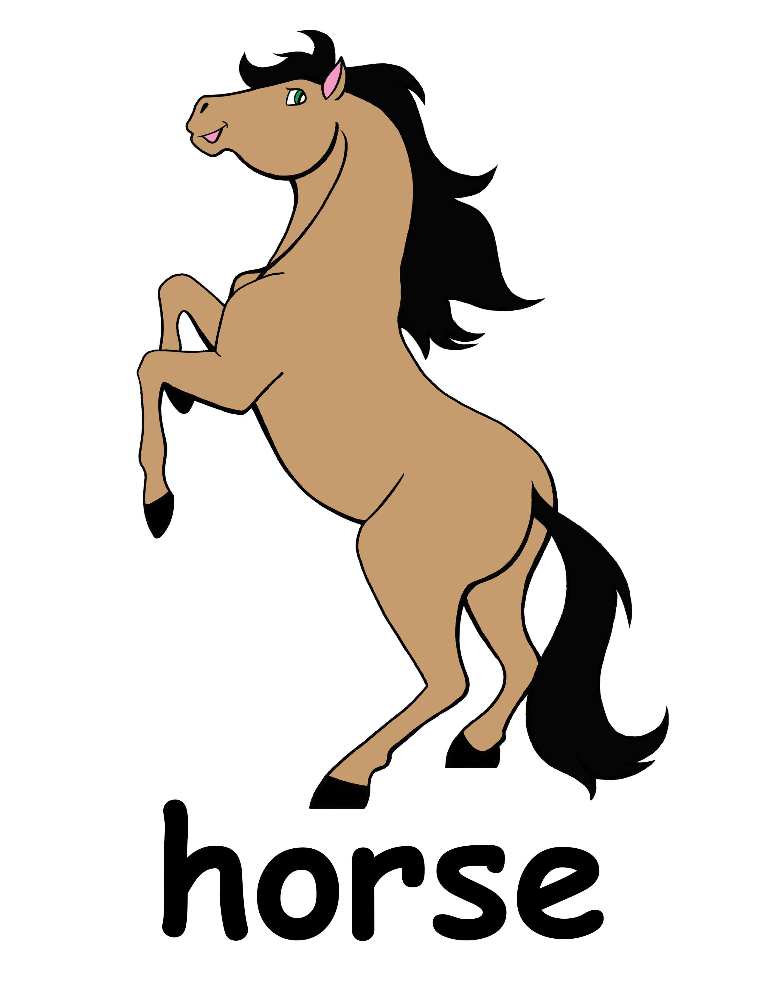 2550x3300 Clip Art Horse Images Clip Art
