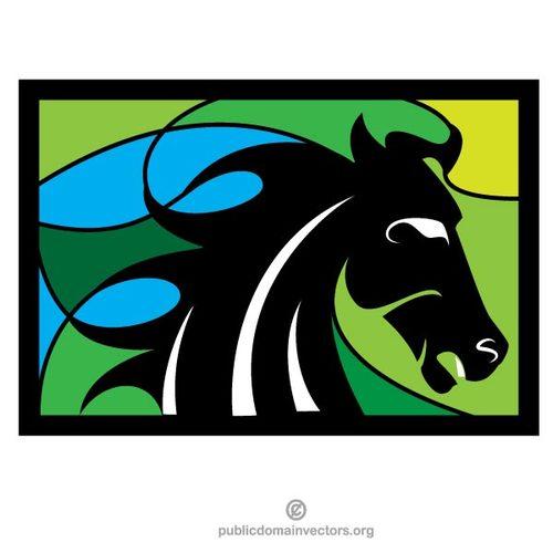 500x500 Horse Silhouette Vector Clip Art Public Domain Vectors